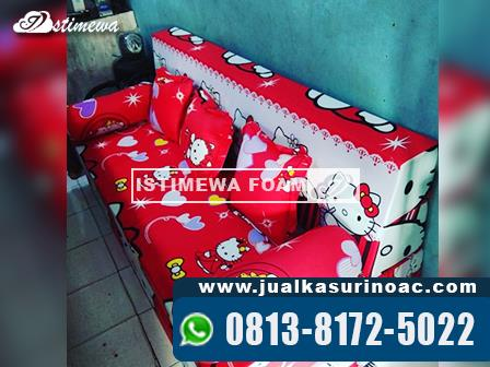 sofa bed inoac hello kitty